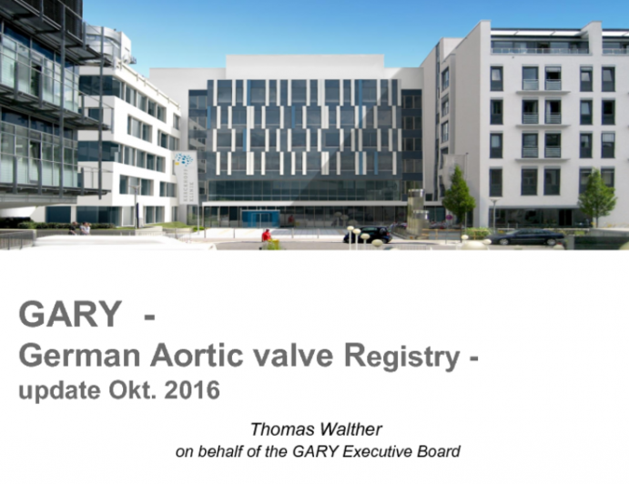 Key Contributions to TAVR Clinical Research I: Updates From GARY and Other German Registries