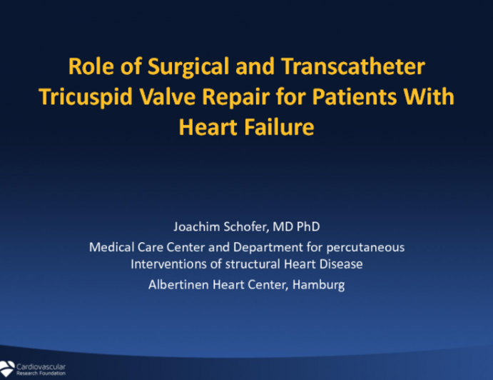 Role of Surgical and Transcatheter Tricuspid Valve Repair for Patients With Heart Failure