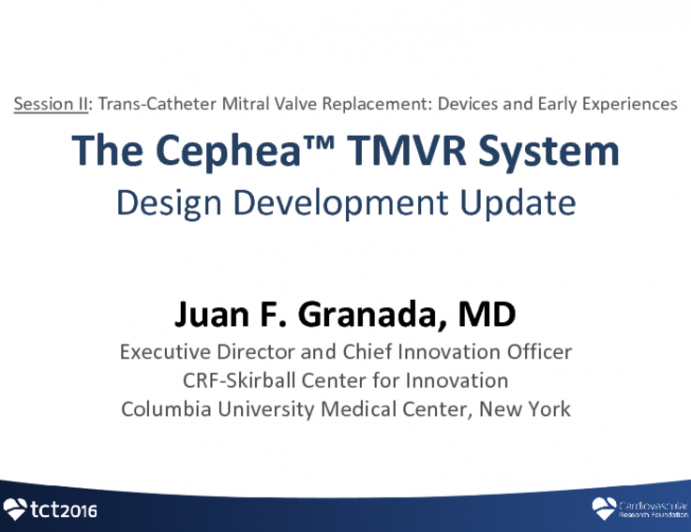 Cephea: Design Development Update