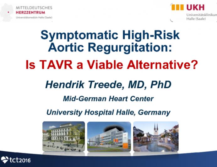 Symptomatic High-Risk Aortic Regurgitation: Is TAVR A Viable Alternative?