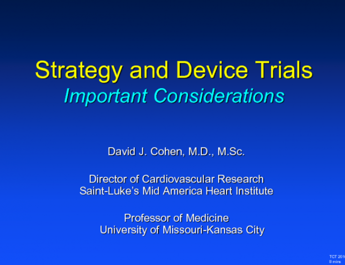 Strategy Trials: ISCHEMIA/EXCEL/FREEDOM: Strengths and Weaknesses