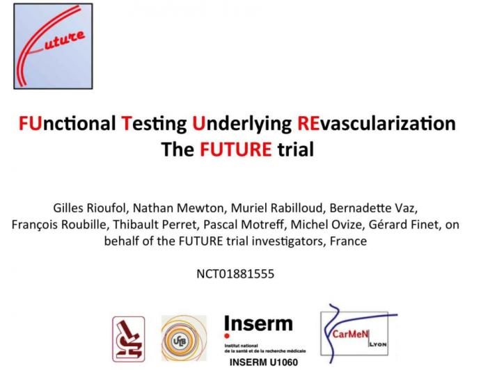 FUnctional Testing Underlying REvascularization: The FUTURE trial
