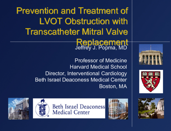 Prevention and Treatment of LVOT Obstruction with Transcatheter Mitral Valve Replacement