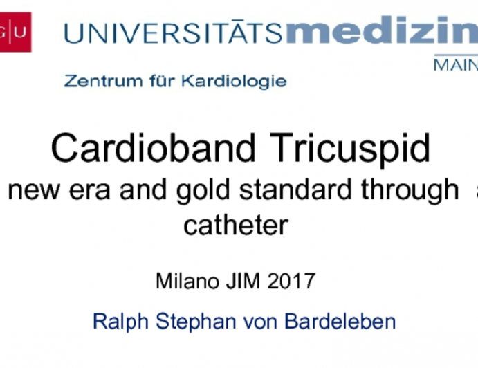 Cardioband Tricuspid: A New Era and Gold Standard Through a Catheter