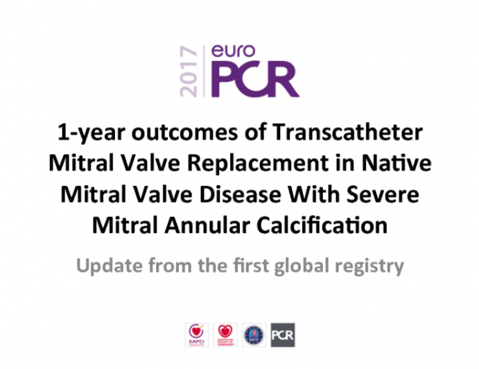 1-year Outcomes of Transcatheter Mitral Valve Replacement in Native Mitral Valve Disease With Severe Mitral Annular Calcification