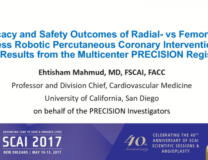Efficacy and Safety Outcomes of Radial- vs Femoral-Access Robotic Percutaneous Coronary Intervention: Final Results from the Multicenter PRECISION Registry