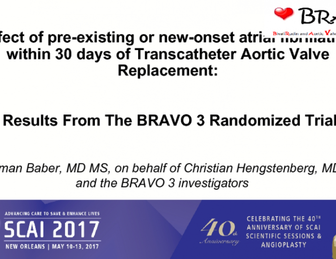 Results From The BRAVO 3 Randomized Trial