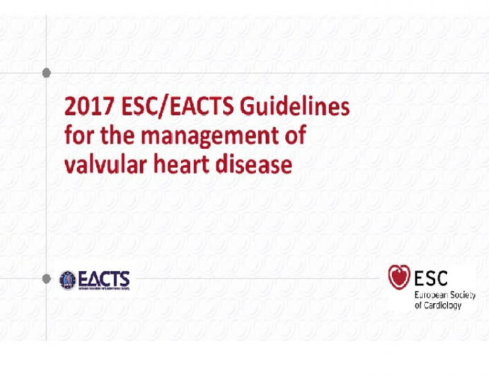 Guidelines for the Management of Valvular Heart Disease