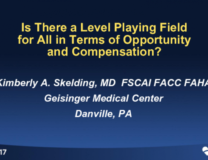 Is There a Level Playing Field for All in Terms of Opportunity and Compensation?