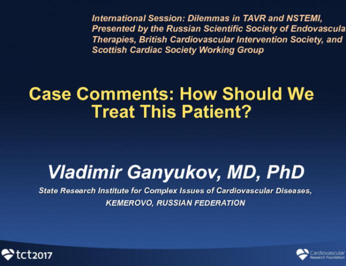 Case Comments: How Should We Treat This Patient?