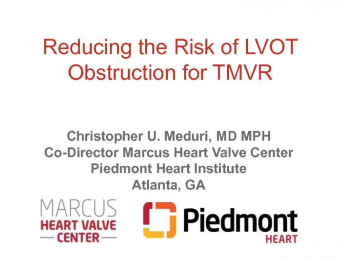 Case #7: Transapical Mitral ViMAC With Lotus (With Discussion)