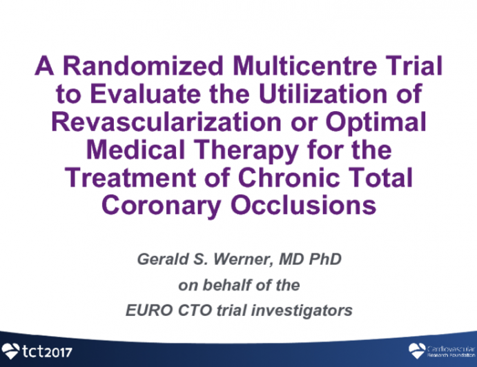 Outcomes and Clinical Implications From the Euro-CTO Trial