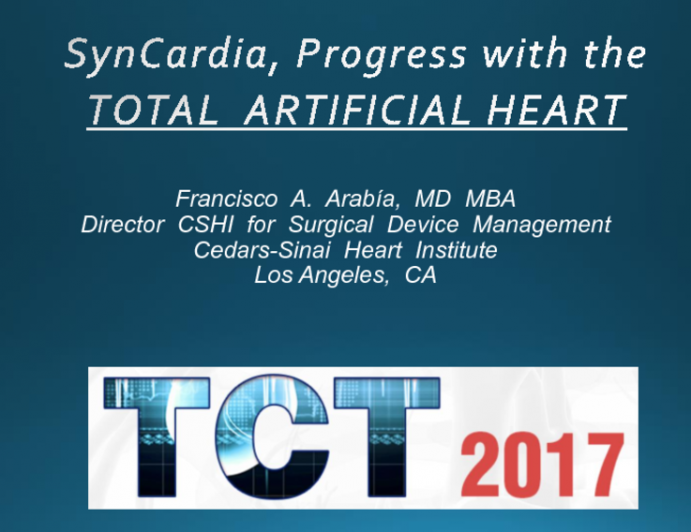 Syncardia: Progress With a Total Artificial Heart