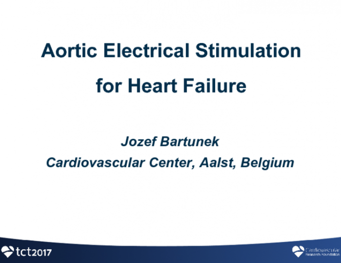 Aortic Arch Electrical Stimulation for Heart Failure