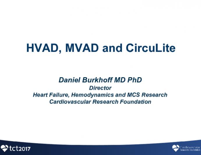 HVAD/MVAD/CircuLite Update