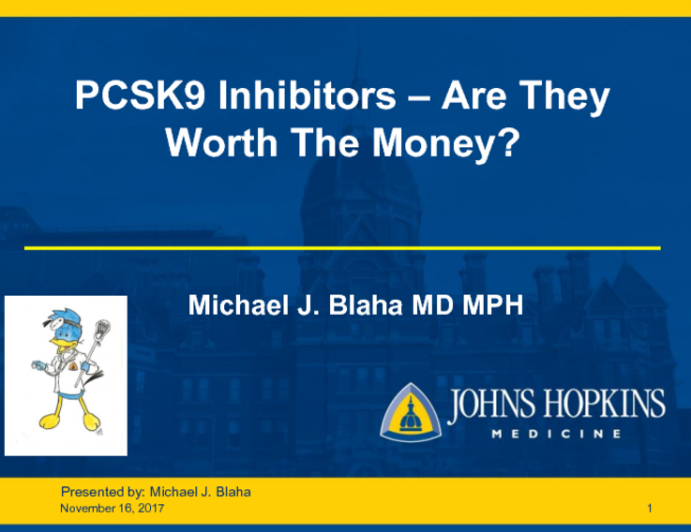 PCSK9 Inhibitors - Are They Worth The Money?
