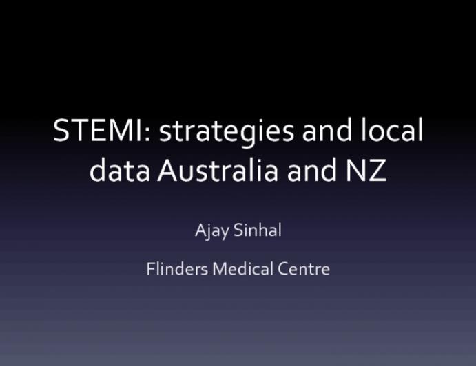 Primary PCI: Data From Australia/New Zealand