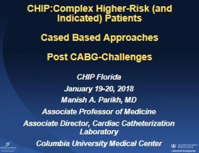 Cased Based Approaches: Post CABG-Challenges