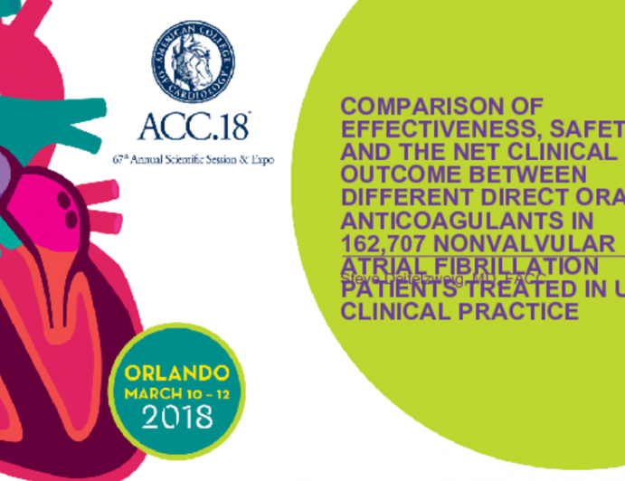 Comparison of Effectiveness, Safety, and The Net Clinical Outcome Between Different Direct Oral Anticouagulants