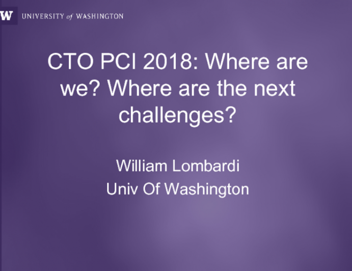 CTO PCI 2018: Where are we? Where are the next challenges?