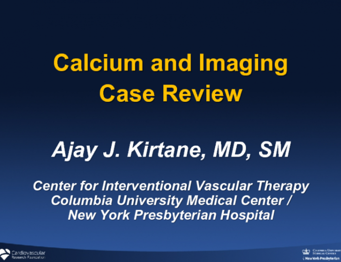Calcium and Imaging Case Review