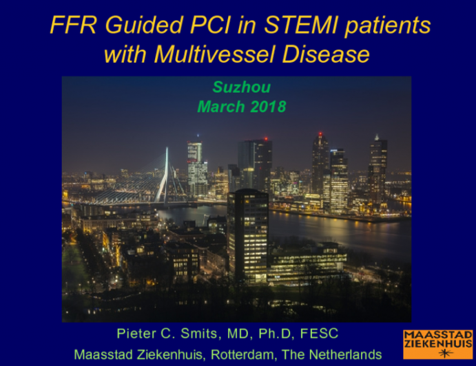 FFR Guided PCI in STEMI patients  with Multivessel Disease