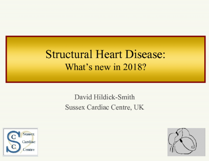 Structural Heart Disease: What's new in 2018?