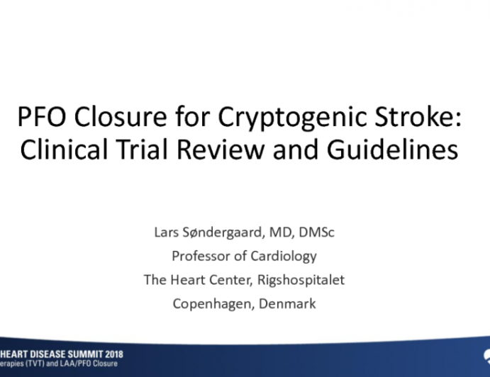 Data Deliverance: Updated PFO Closure for Cryptogenic Stroke Clinical Trial Review and Guidelines
