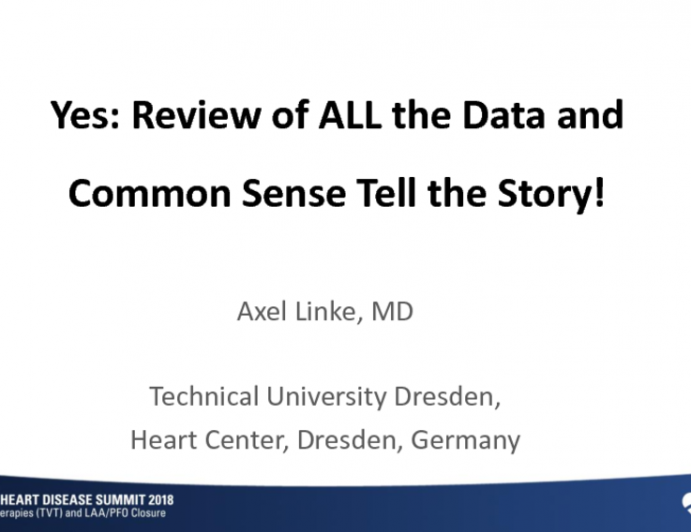 YES: Review of ALL the Data and Common Sense Tell the Story!