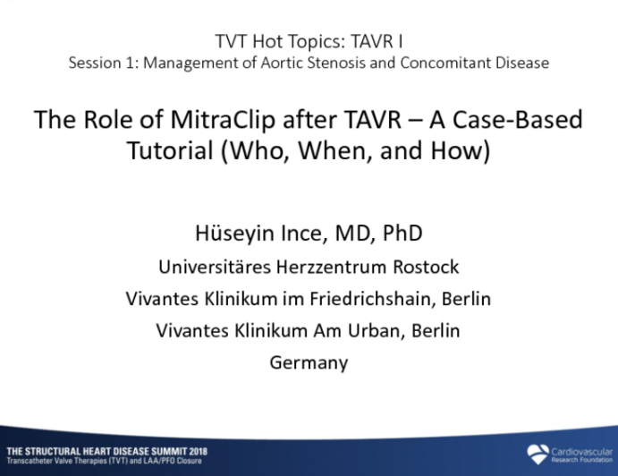 The Role of MitraClip After TAVR: A Case-Based Tutorial (Who, When, and How)