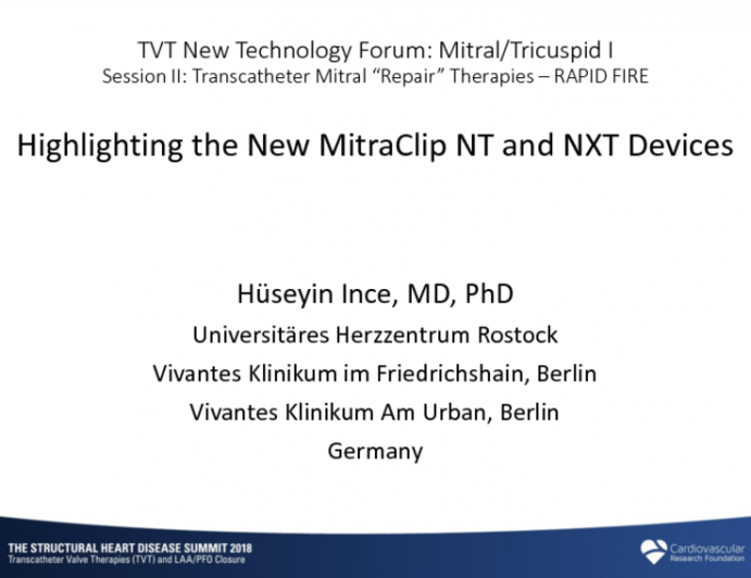 Highlighting the New MitraClip NTR and XTR Devices