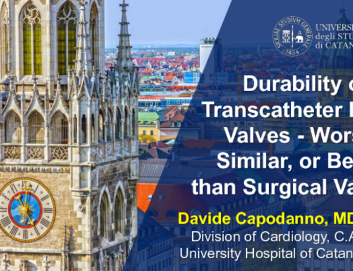 Durability of Transcatheter Heart Valves - Worse, Similar, or Better than Surgical Valves?