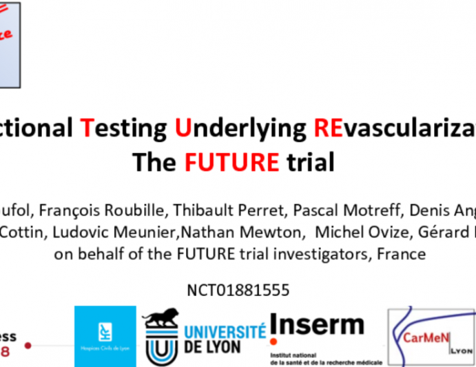 FUnctional Testing Underlying REvascularization The FUTURE trial
