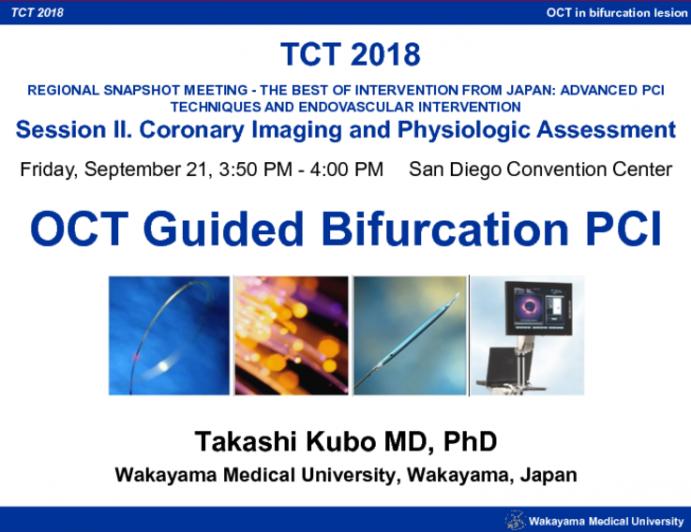 OCT Guided Bifurcation PCI