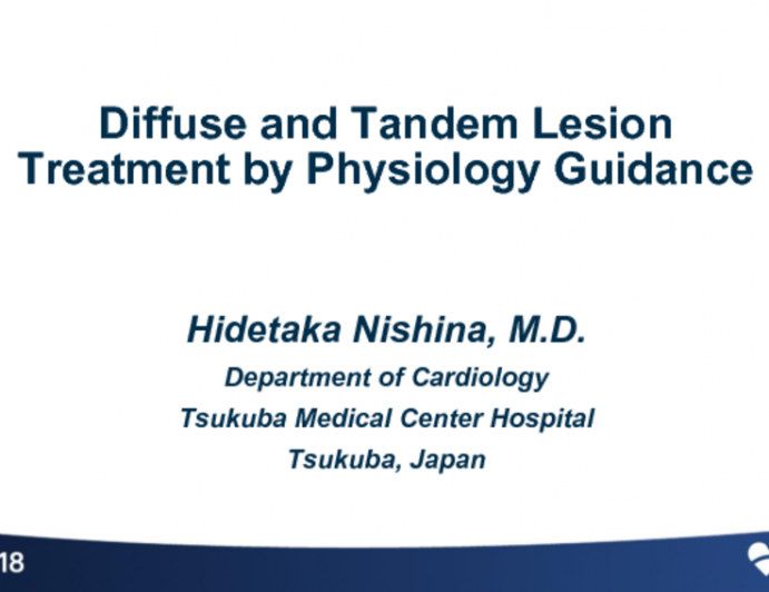 Diffuse and Tandem Lesion Treatment by Physiology Guidance