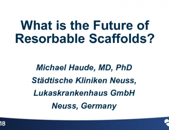 What is the Future of Bioresorbable Scaffolds?