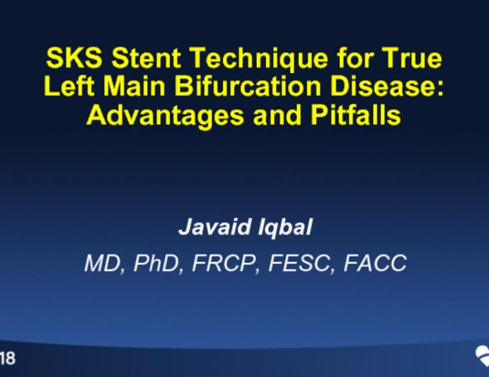 SKS Stent Technique for True LM Bifurcation Disease: Advantages and Pitfalls (With Case Examples)