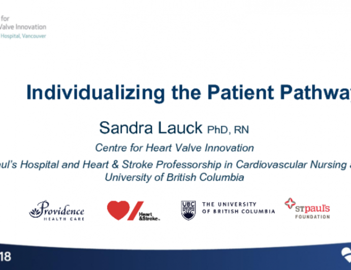 Individualizing the Patient Care Pathway