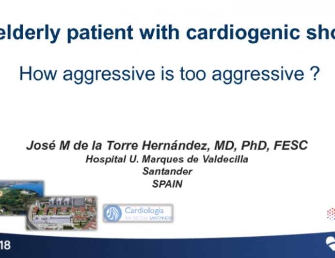 Case #10: A Very Elderly Patient With Cardiogenic Shock: How Aggressive Is Too Aggressive?