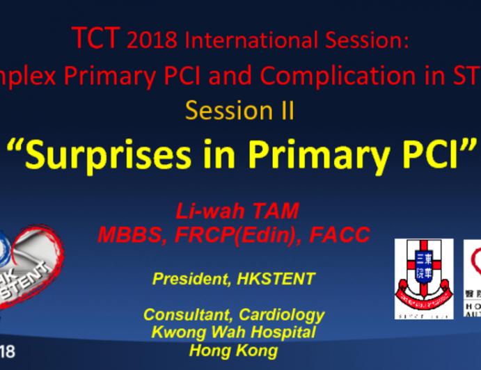 Surprises in Primary PCI