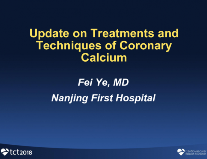Update on Treatments and Techniques of Coronary Calcium