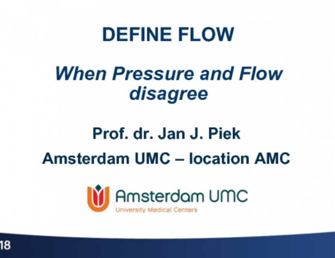 When Pressure and Flow Disagree: The DEFINE-FLOW Trial.