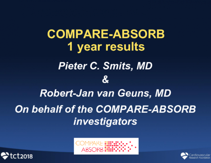 COMPARE ABSORB: A Randomized Trial of a Polymeric Everolimus-Eluting Bioresorbable Scaffold in High-Risk and Complex Lesions