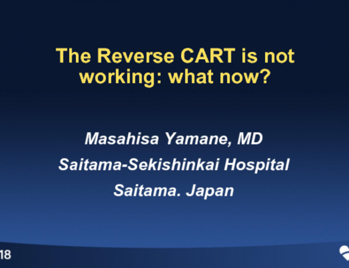 The REVERSE-CART is Not Working: What Now?