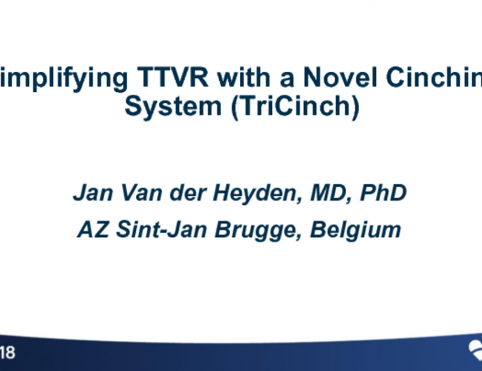 Simplifying TTVR with a Novel Cinching System (Tricinch)