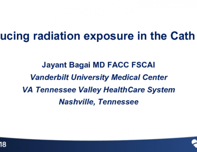 Reducing Radiation Exposure in the Cath Lab