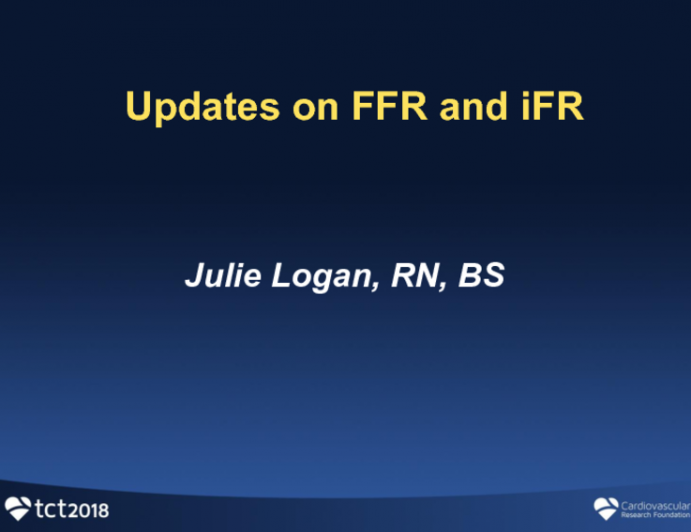 Update on iFR and FFR