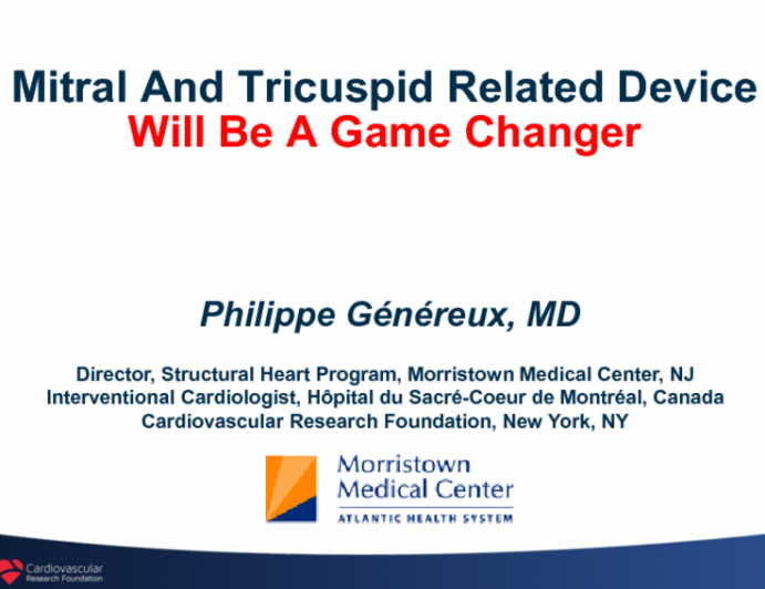 MR and TR Valve Related Device Will be a Game Changer? -From US Academia's Prospective