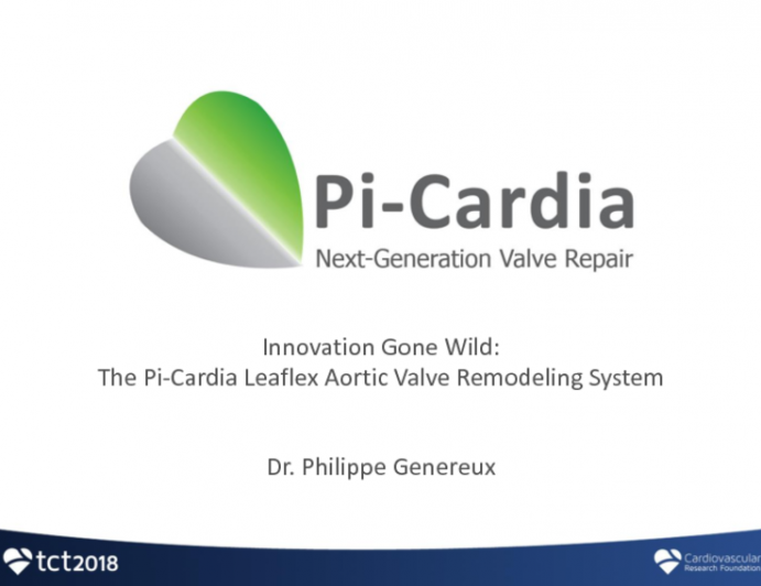 Innovation Gone Wild: The Pi-Cardia Leaflex Aortic Valve Remodeling System