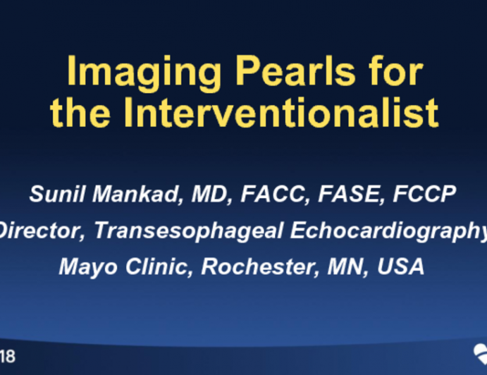 Imaging Pearls for the Interventional Cardiologist